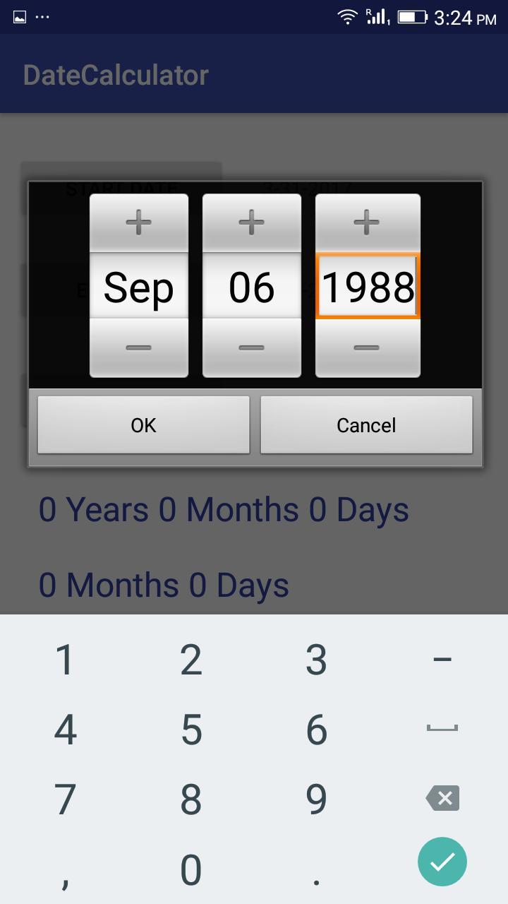 Date Calculator poster