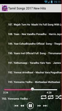 Tamil Songs 2017 / new hit mp3 screenshot 6