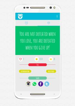 Motivare Motivational Alarm apk screenshot