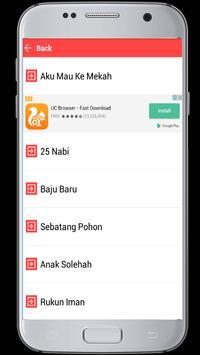 Lagu Anak Islami apk screenshot
