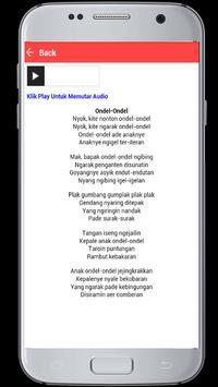 Lagu Betawi apk screenshot