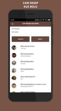 Resep Kue Bolu Lengkap : Offline Gratis apk screenshot