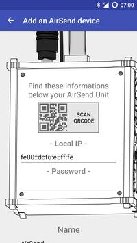 AirSend poster