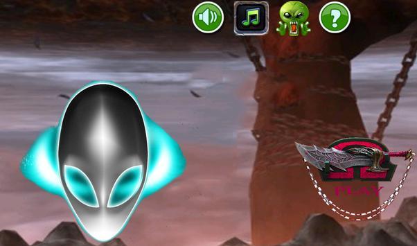 Alien jumping and running full apk screenshot
