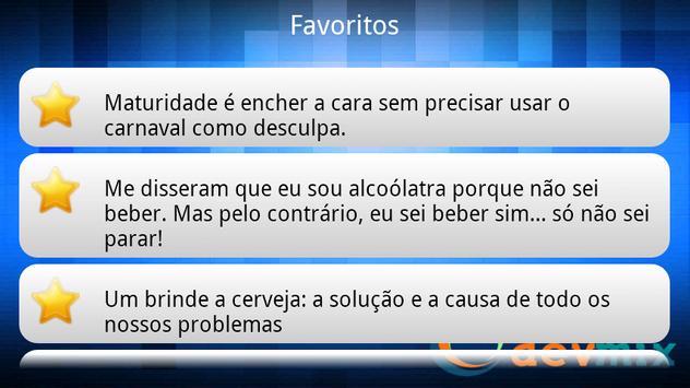 Frases de Bêbado apk screenshot