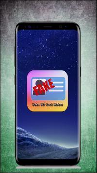 صنع بطاقة وهوية مزورة 2018 apk screenshot