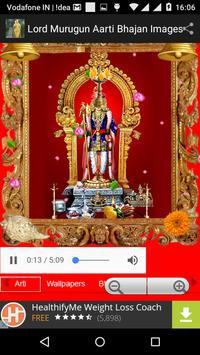 Lord Murugun Aarti Bhajan Pics poster