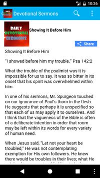 Daily Devotional Sermons apk screenshot