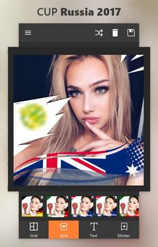 Support your team russia confederation cup selfie apk screenshot
