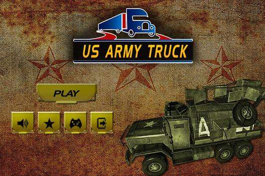 Drive US Army Truck - Training poster