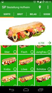 Sandwich Paradies poster