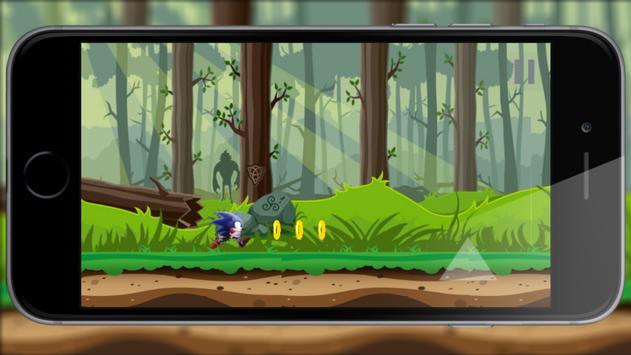 Super Sonic Run Game apk screenshot