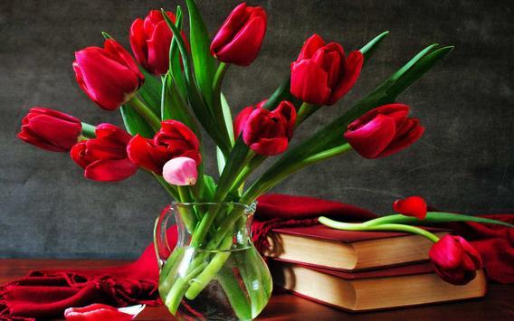 Amazing Tulips live wallpaper apk screenshot
