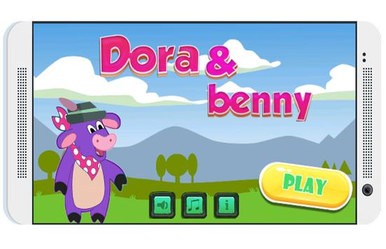 Dora benny adventures poster