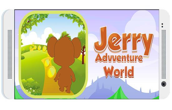 Temple Jerry adventures world poster
