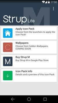 Strup M Lite - Icon Pack poster