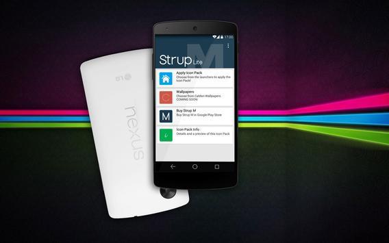 Strup M Lite - Icon Pack apk screenshot