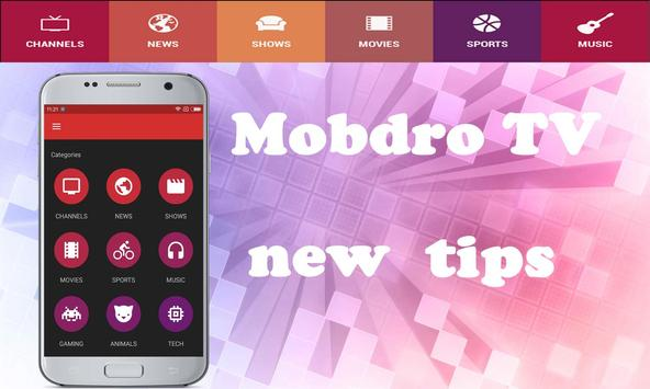 New Mobdro TV free Reference poster