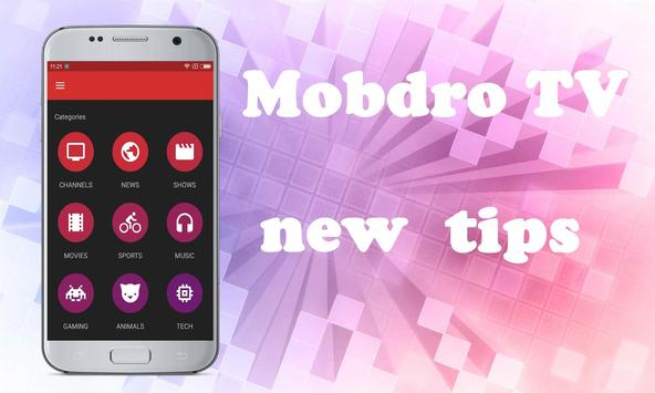 New Mobdro TV free Reference apk screenshot