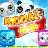 Animal Pop Crush icon