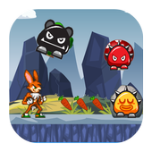 Jungle Bunny Running Free icon