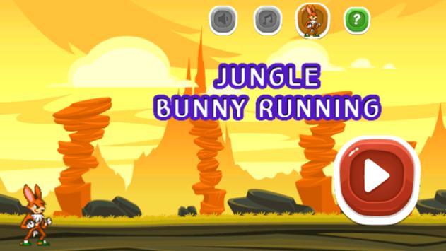 Jungle Bunny Running Free screenshot 4