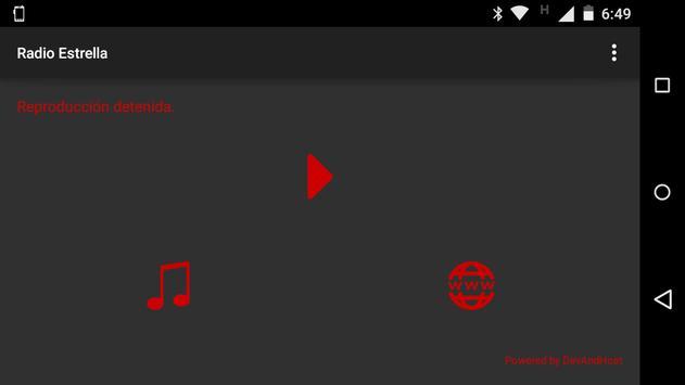 Radio Estrella Argentina apk screenshot