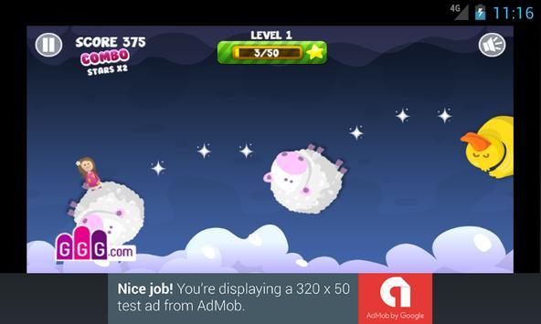Dreamy Jump - The Adventure screenshot 1