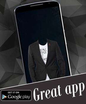 Stylish Man Suit Photo Montage apk screenshot