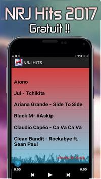 TOP NRJ HITS 2017 apk screenshot