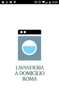 Lavanderia a domicilio Roma poster