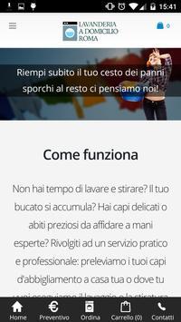 Lavanderia a domicilio Roma apk screenshot