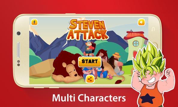 Steven Attack Adventure apk screenshot