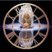 White Rose Clock Wallpaper icon