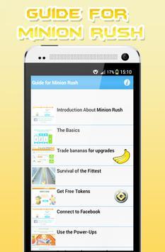 Guide for Minion screenshot 4