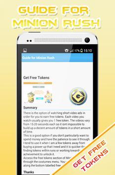 Guide for Minion screenshot 2