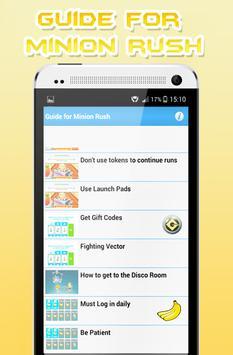 Guide for Minion screenshot 3