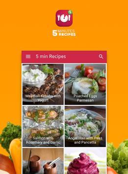 Five minutes recipes screenshot 1