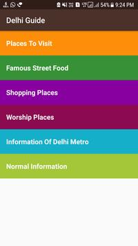 Delhi Guide poster