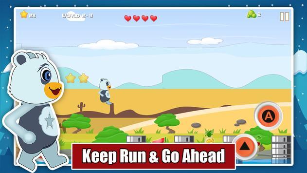 Teddy Bear Adventure Run apk screenshot