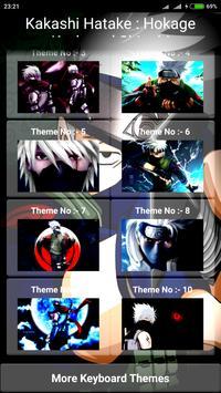Kakashi Hatake : Hokage Keyboard Shinobi apk screenshot