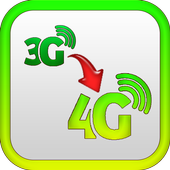 3G to 4G Converting Prank icon