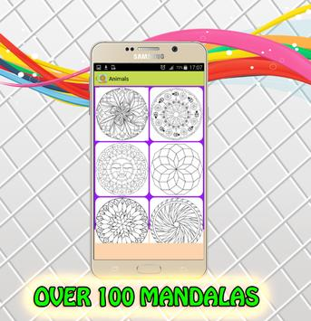 Mandala Coloring Page Pro Apk Screenshot