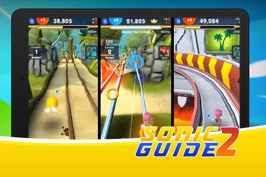 Guide Sonic Dash 2 boom apk screenshot
