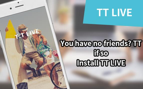 free video chat, video call - TT poster