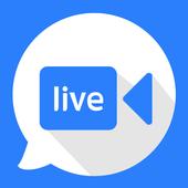 Random Video Chat - TalkTalkCam icon