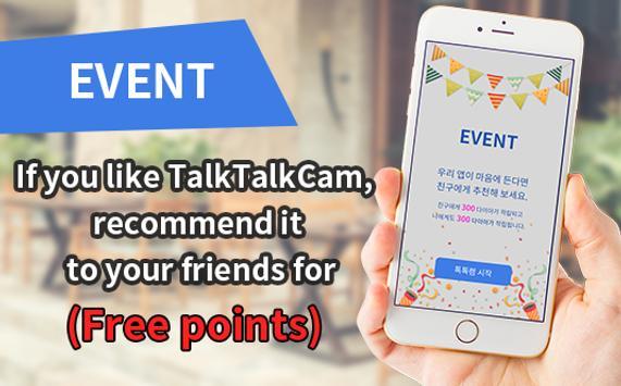 Random Video Chat - TalkTalkCam apk screenshot