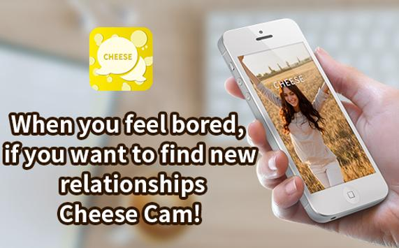 Random video chat - Cheese Talk poster
