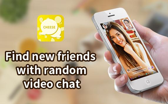 Random video chat - Cheese Talk screenshot 1