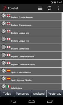 Football Predictions Forebet screenshot 4